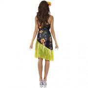 Costume femme fête hawaïenne dos