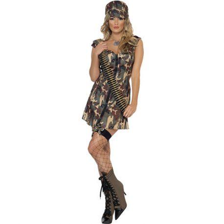 Costume femme militaire armée de terre