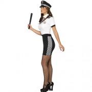 Costume femme flic profil