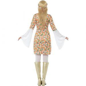 Costume femme flower power dos