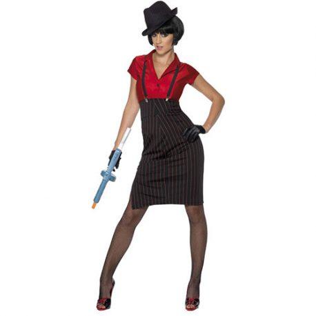 Costume femme gangster 1920