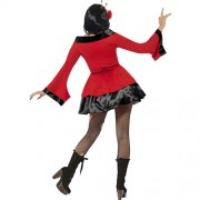 Costume femme geisha gothique dos