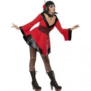 Costume femme geisha gothique profil