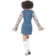 Costume femme groovy dancing dos