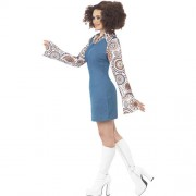 Costume femme groovy dancing profil