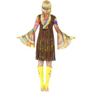 Costume femme groovy lady 1960 dos