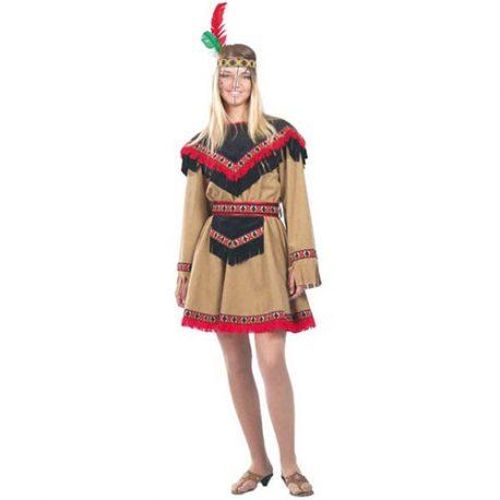 Costume femme indienne Kiowa