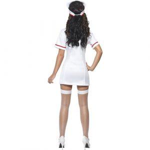 Costume femme infirmière sexy dos