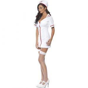 Costume femme infirmière sexy profil