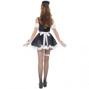 Costume femme kit femme de chambre française dos