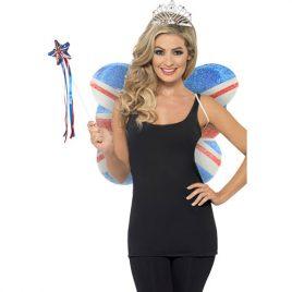Costume femme kit Union Jack