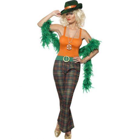 Costume femme lady million