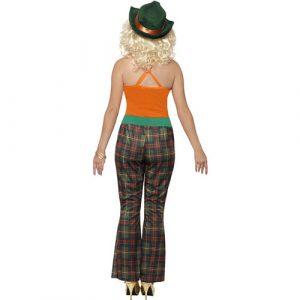Costume femme lady million dos