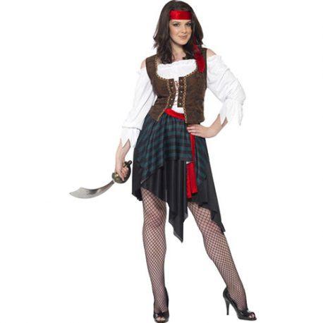 Costume femme lady pirate