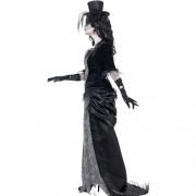 Costume femme veuve gothique fantôme profil