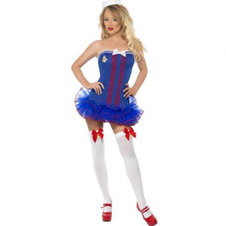 Costume femme marinière sexy