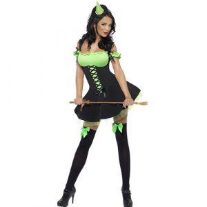 Costume femme méchante sorcière sexy