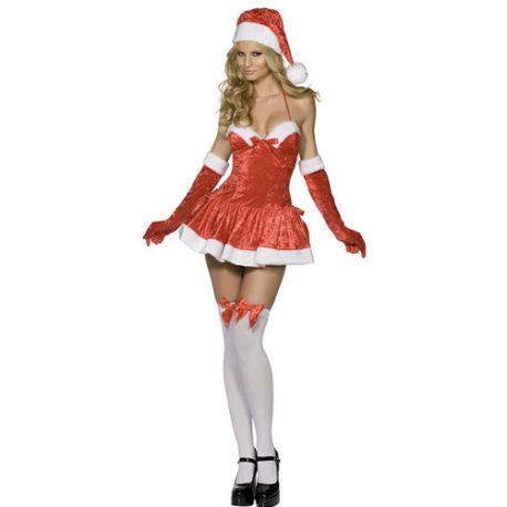 Costume femme miss Santa sexy