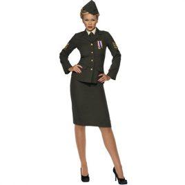 Costume femme officier de guerre