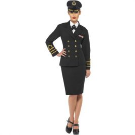Costume femme officier de marine commander