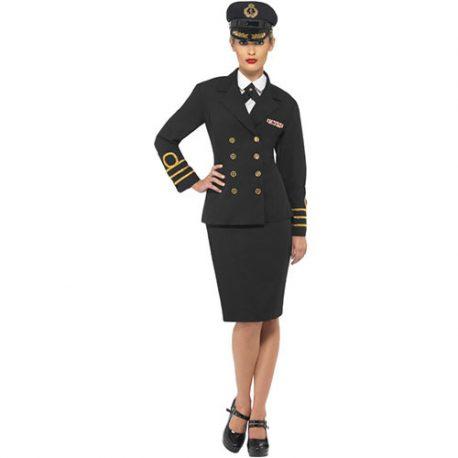 Costume femme officier de marine commander