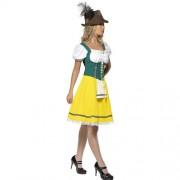 Costume femme Oktoberfest sexy profil