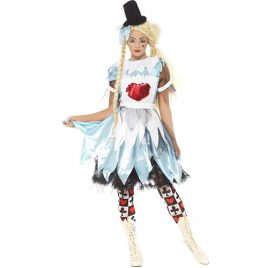 Costume femme Alice pays des bêtises