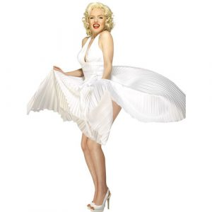 Costume femme pimpante Marilyn profil