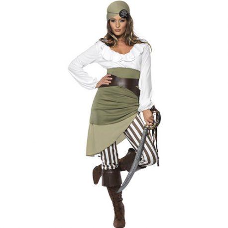 Costume femme pirate fond de cale