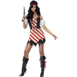 Costume femme pirate sexy furie