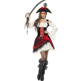 Costume femme pirate glamour