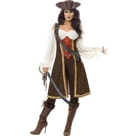 Costume femme pirate de haute mer