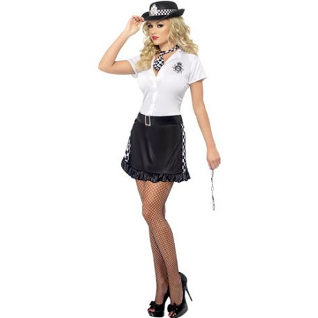 Costume femme policière anglaise