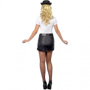 Costume femme policière anglaise dos