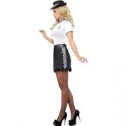 Costume femme policière anglaise profil