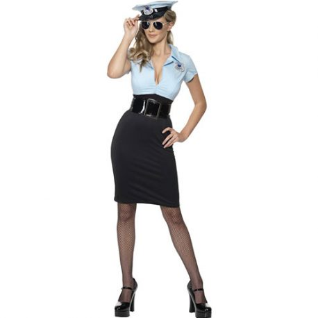 Costume femme policière cadette