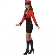 Costume femme pop star militaire profil