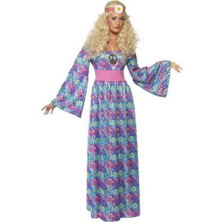 Costume femme princesse hippie flower