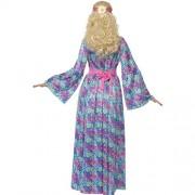 Costume femme princesse hippie flower dos