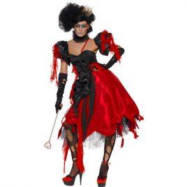 Costume femme reine de cœur effrayante