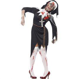 Costume femme religieuse zombie
