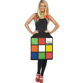 Costume femme Rubiks cube 3D