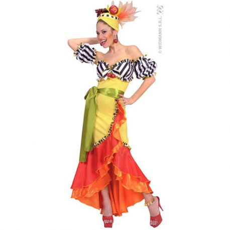 Costume femme samba