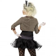 Costume femme look sauvage 80s dos