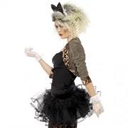 Costume femme look sauvage 80s profil