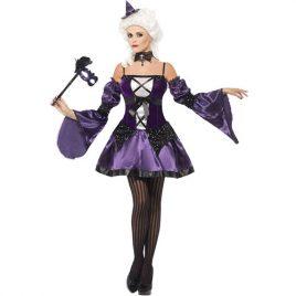 Costume femme sorcière mascarade