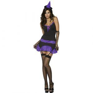 Costume femme sorcière ensorceleuse