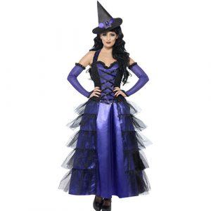 Costume femme sorcière glamour