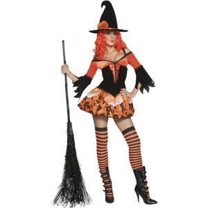 Costume femme sorcière jardin enchanté
