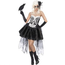Costume femme danseuse squelette